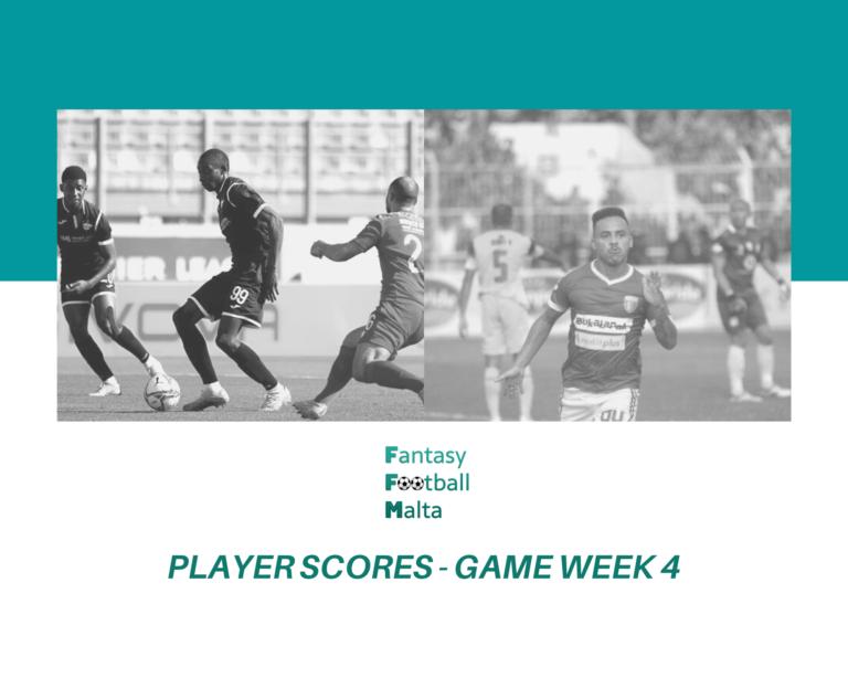 Moussa Kamara (Balzan) and Fernandinho (Zejtun) top FFM Matchday 4 Player Rankings