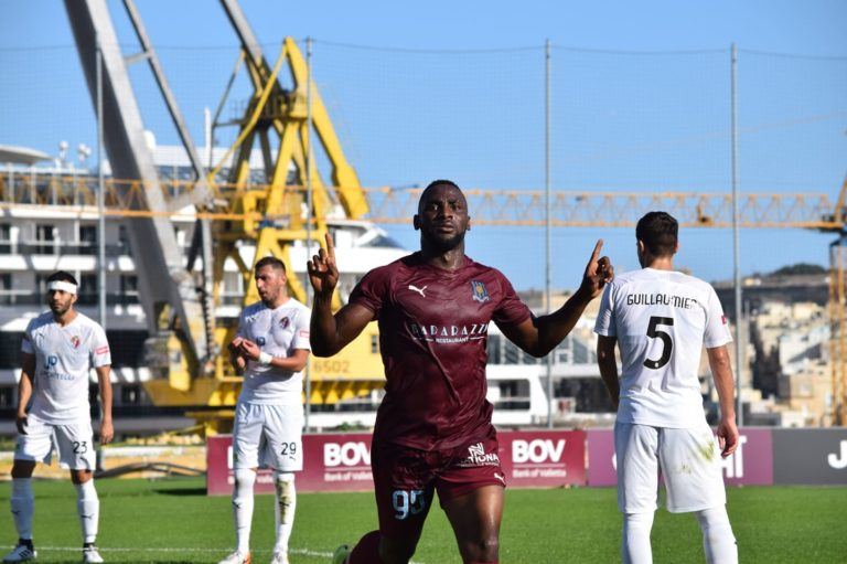 FFM Matchday 16 Statistics - Rafael Kooh Sohna scored on his league debut for Gżira United FC and Tarxien Rainbows FC this season.